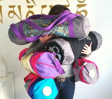 "Über Kobrika ""manufaktur for yoga bags with personality"" #kobrika #yogabags #yogataschen"