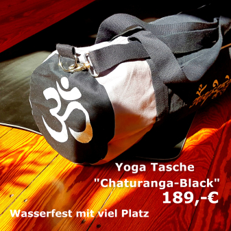 chaturanga black kobrika yoga tasche